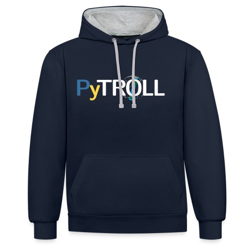 Unisex Hoody with contributors name - Contrast Colour Hoodie