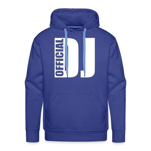 music dj official - Men's Premium Hoodie