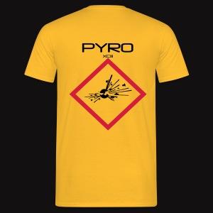 artificier tshirt Pyro Back black - T-shirt Homme
