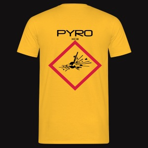 artificier tshirt Pyro Back black - T-shirt Homme