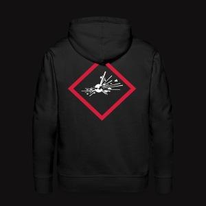 artificier hoodie Pyro  - Sweat-shirt à capuche Premium pour hommes