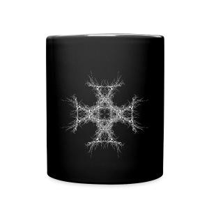 kreutz dark metall - Tasse einfarbig