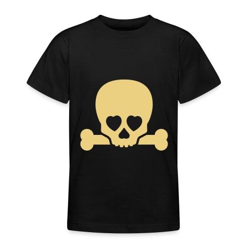 Boys - Skull & Bones - Teenage T-Shirt