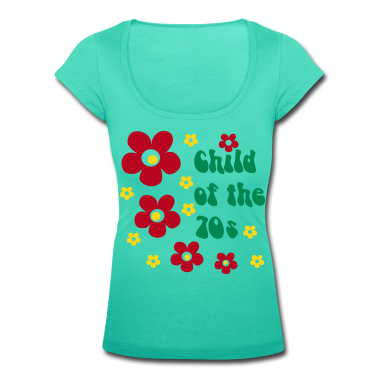 Emerald green Child of the 70s Women's T-Shirts