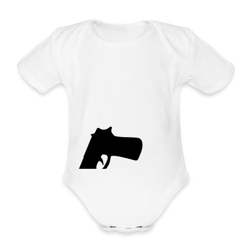 freddino - Body ecologico per neonato a manica corta