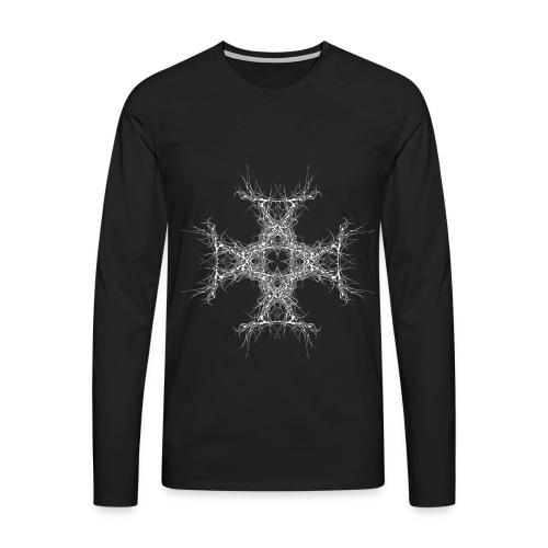 kreutz dark metall - Männer Premium Langarmshirt
