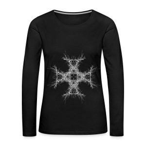 kreutz dark metall - Frauen Premium Langarmshirt