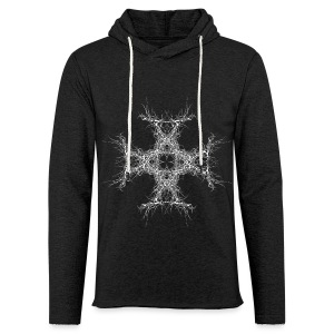 kreutz dark metall - Leichtes Kapuzensweatshirt Unisex