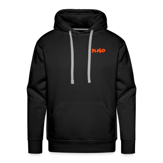 Hoodie Black & Orange
