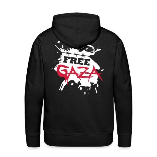 Free Gaza - Mens Hoodie - Men's Premium Hoodie
