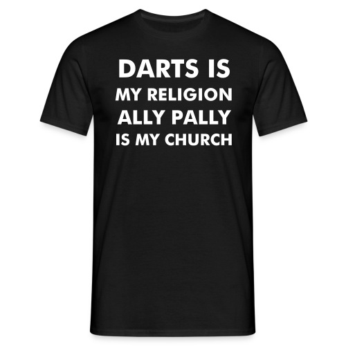 Darts is my religion - Männer T-Shirt