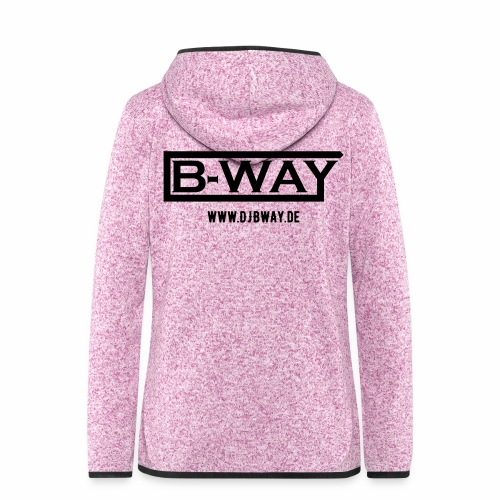 BW Female Fleece - Frauen Kapuzen-Fleecejacke