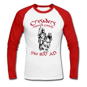 Männer langärmeliges Baseballshirt Crusaders - Männer Baseballshirt langarm