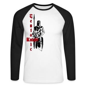 langarm-Baseballshirt Teutonen-Ritter - Männer Baseballshirt langarm