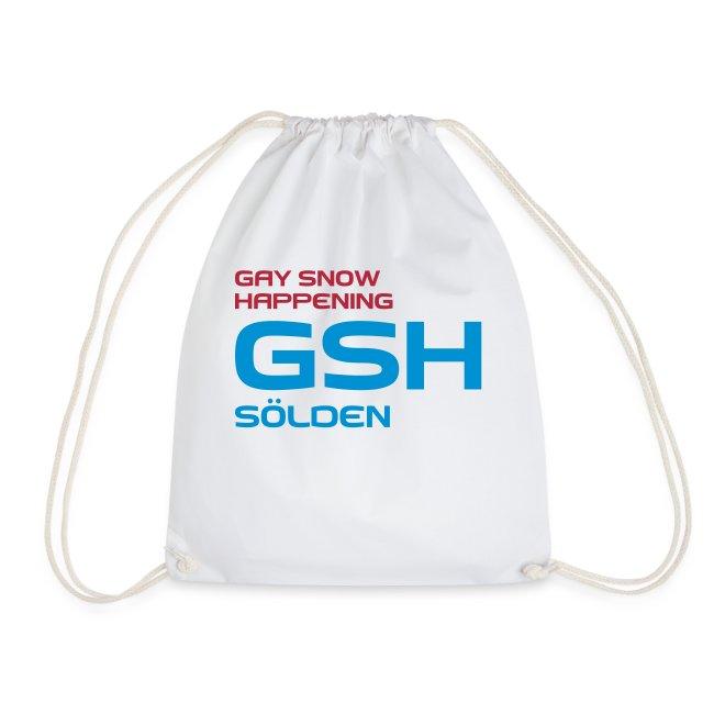 Turnbeutel GSH logo vorne