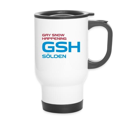 Thermobecher GSH logo vorne - Thermobecher