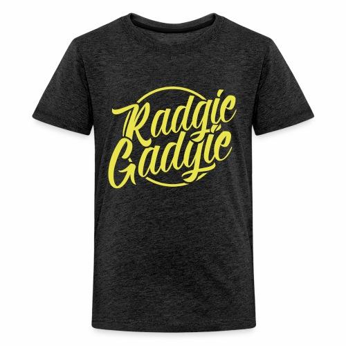 Radgie Gadgie Teenagers T-Shirt - Teenage Premium T-Shirt