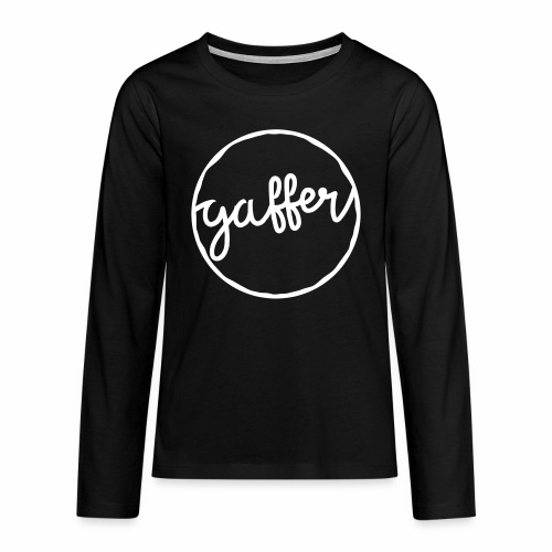 Gaffer Teenager's Long Sleeve T-Shirt - Teenagers' Premium Longsleeve Shirt