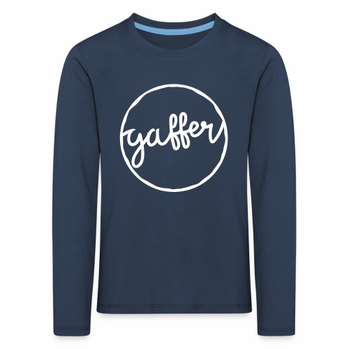 Gaffer Children's Long Sleeve T-Shirt - Kids' Premium Longsleeve Shirt