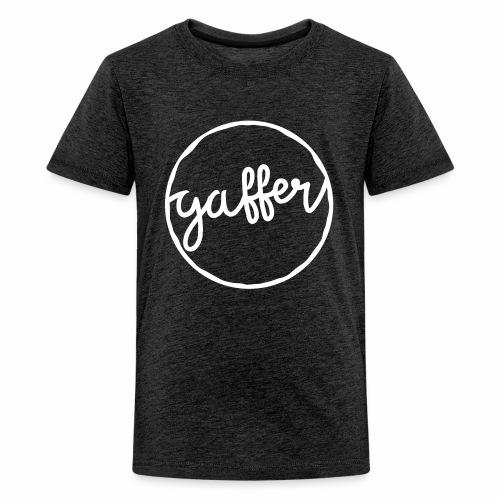 Gaffer Teenager's T-Shirt - Teenage Premium T-Shirt