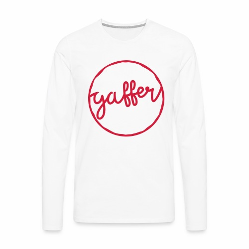 Gaffer Men's Long Sleeve T-Shirt - Men's Premium Longsleeve Shirt