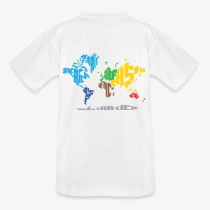 Kids World Map t-shirt - Kids' T-Shirt