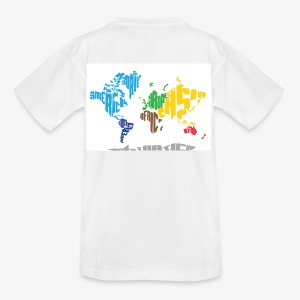 Teenage World Map t-shirt - Teenage T-shirt