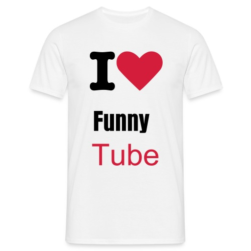 FunnyTube Men's Classic T-Shirt - Men's T-Shirt