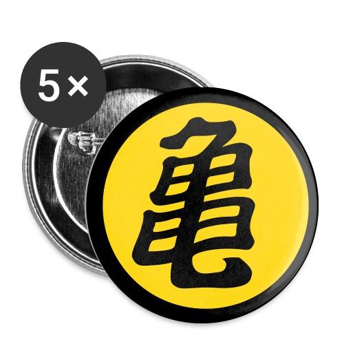 Kame - Paquete de 5 chapas medianas (32 mm)