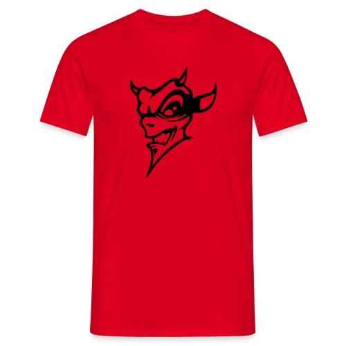 devil skull - Männer T-Shirt