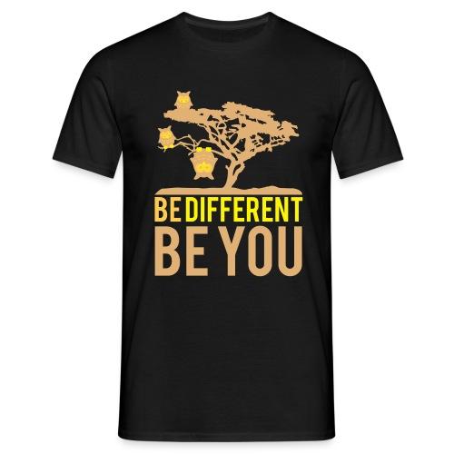 Be Different T-Shirt Men black - Men's T-Shirt