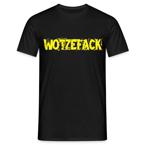 What The F... German Men T-Shirt black - Men's T-Shirt