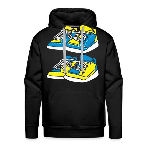Crazy Connection Live in Colors - Sweat-shirt à capuche Premium pour hommes