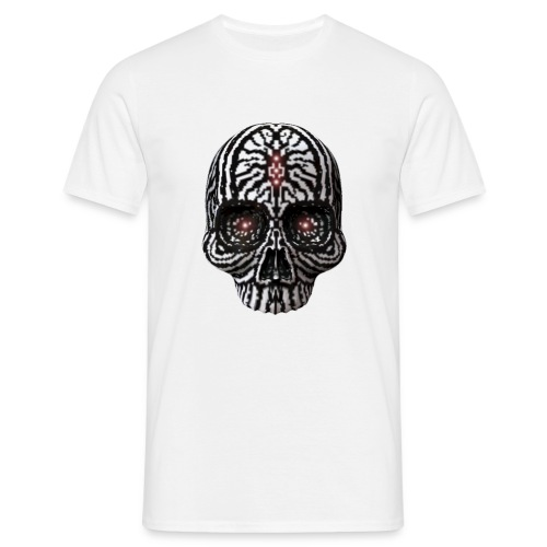 Skull Zebra - Männer T-Shirt