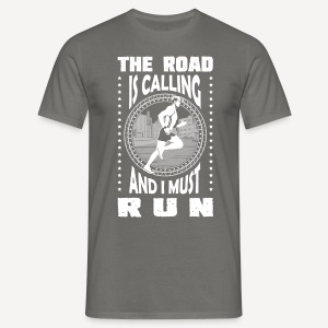 The road is calling - T-shirt - Maglietta da uomo