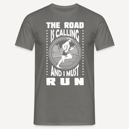 The road is calling - T-shirt - Maglietta da uomo