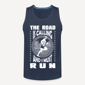 The road is calling - Tank - Canotta premium da uomo