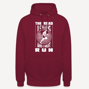 The road is calling - Hoodie - Felpa con cappuccio unisex