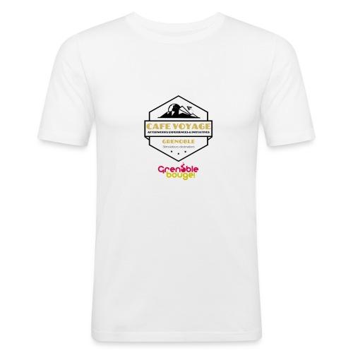 Tee shirt Homme Plusieurs coloris - T-shirt près du corps Homme