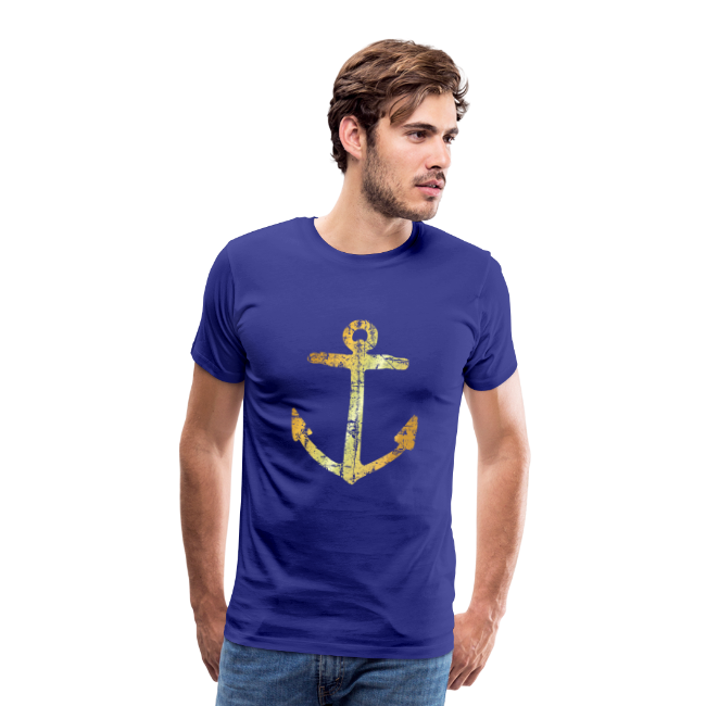 Anker T-Shirt (Ancient Gold)
