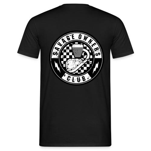 Savage T-Shirt Backprint - Männer T-Shirt