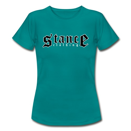 Logo Women's T Shirt (Petrol Blue) - Women's T-Shirt