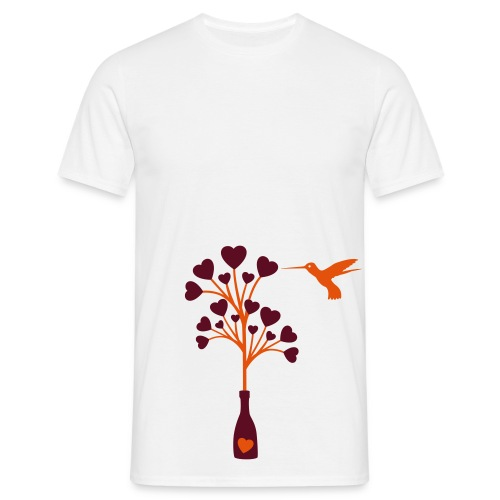 love hummingbird - T-shirt Homme