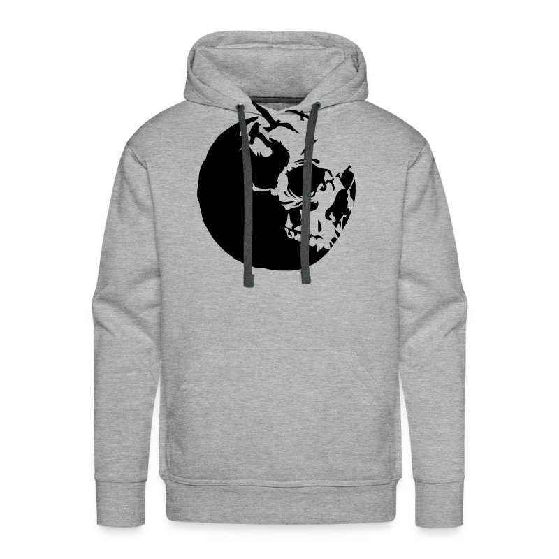 Killing moon - Sweat-shirt à capuche Premium pour hommes