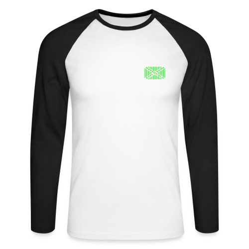 Branded Long Sleeved Tee - Men's Long Sleeve Baseball T-Shirt