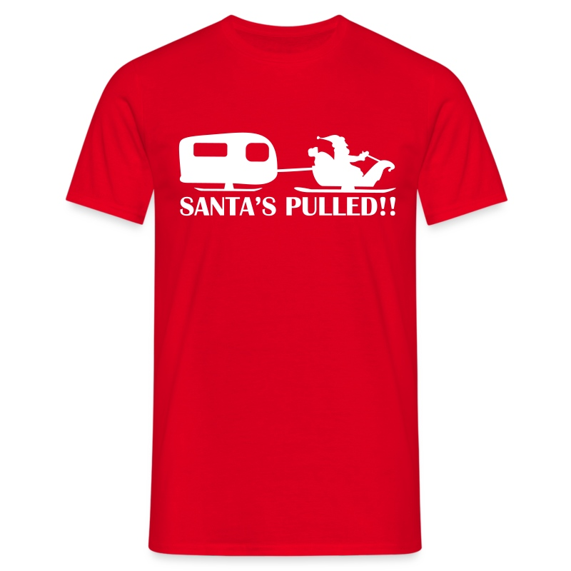 Santa's Pulled - Men's T-Shirt