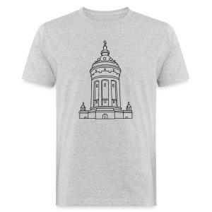 Wasserturm Mannheim - Männer Bio-T-Shirt