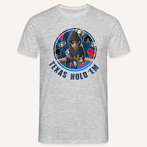 Texas hold em - T-shirt - Maglietta da uomo