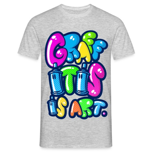 GRAFFITIS IS ART - T-shirt Homme
