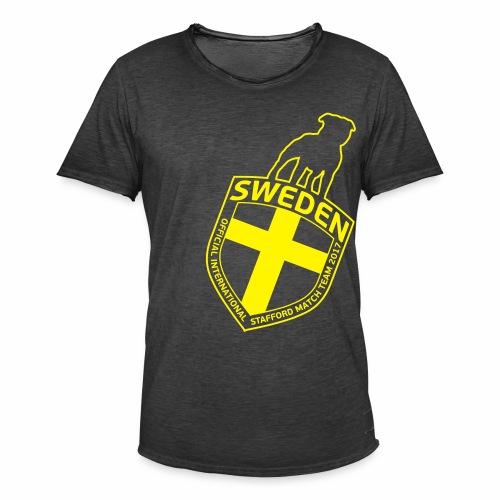 SWE ISM TEAM 2017 MEN'S ANGLE - Vintage-T-shirt herr